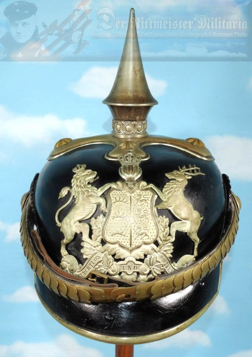 WÜRTTEMBERG - PICKELHAUBE - OFFICER - DRAGONER-REGIMENT Nr 25