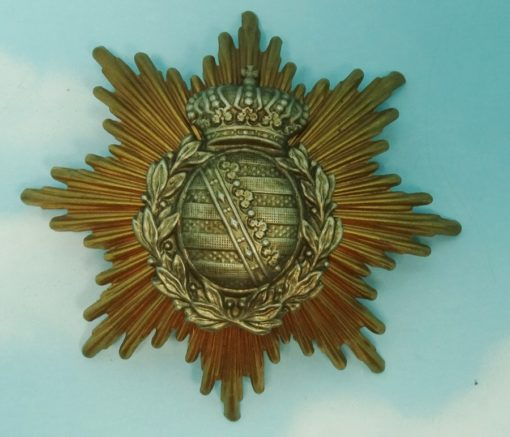 WAPPEN - SAXONY - ENLISTED MAN/NCO - INFANTERIE/ARTILLERIE - PRE WW I - Imperial German Military Antiques Sale