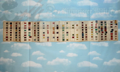 IMPERIAL GERMANY, THIRD REICH, AND OTHER COUNTRIES - PERIOD FOLIO - DECORATION ID'S & RIBBON SAMPLES