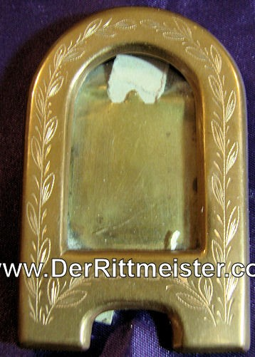 TRENCH ART FRAME - Imperial German Military Antiques Sale