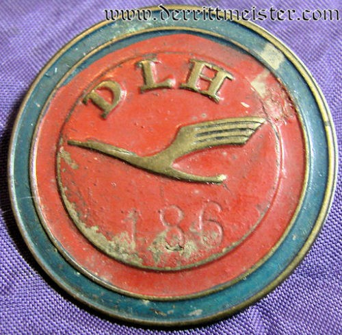 EARLY LUFTHANSA BADGE (1920'S) - Imperial German Military Antiques Sale