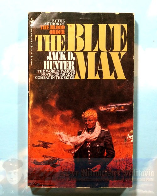 JACK D. HUNTER - BOOK - THE BLUE MAX - Imperial German Military Antiques Sale