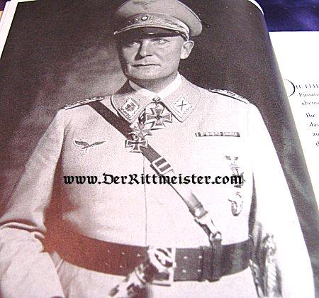GERMANY - BOOK - ZWEI GENERATIONEN LUFTWAFFE 1. WEGBEREITER DER LUFTFAHRT FLIEGER DES WELTKRIEGES by ROLF ROEINICH - Imperial German Military Antiques Sale