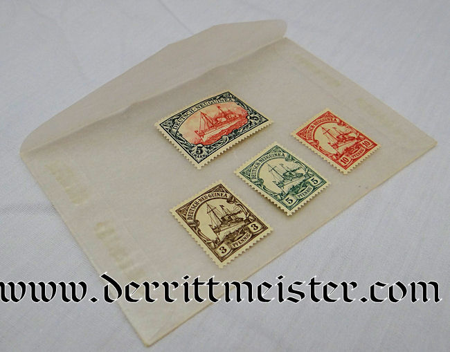 NEW GUINEA COLONIAL  – STAMP SET