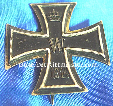 IRON CROSS - 1914 - 1st CLASS - FIELD-ENGRAVED - Imperial German Military Antiques Sale