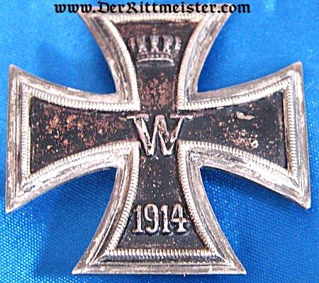 IRON CROSS - 1914 - 1st CLASS - VAULTED - ORIGINAL PRESENTATION CASE