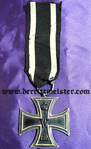 IRON CROSS - 1914 - 2nd CLASS - HALLMARKED - Imperial German Military Antiques Sale
