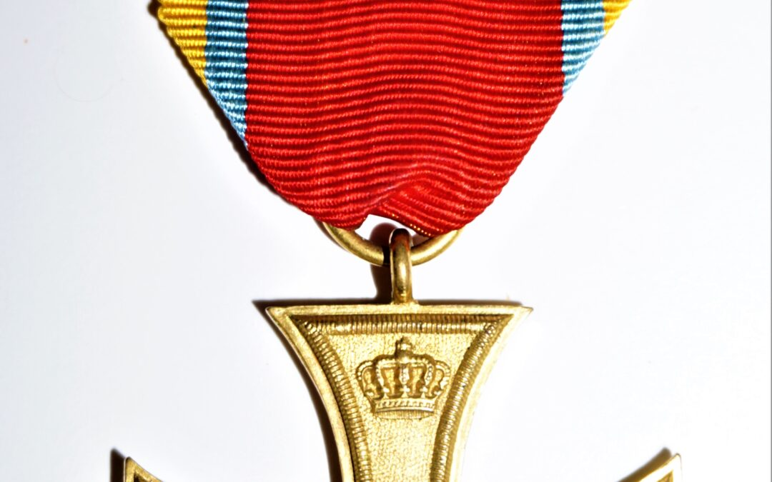 MECKLENBURG-SCHWERIN – MILITARY MERIT CROSS – 1870 – 2nd CLASS
