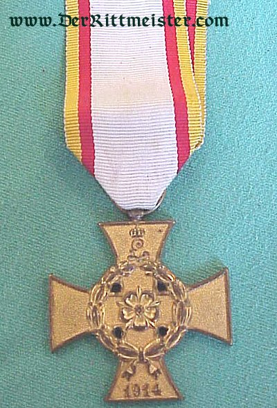 WAR SERVICE CROSS 2nd CLASS NON COMBATANTS- LIPPE-DETMOLD - Imperial German Military Antiques Sale