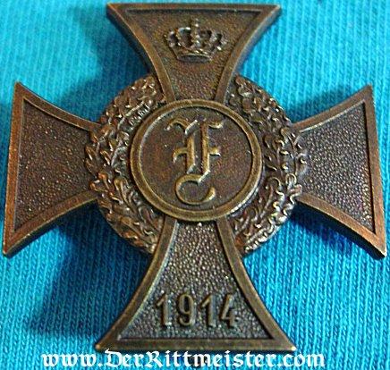 ANHALT - 1914 FRIEDRICH CROSS - 1st CLASS - Imperial German Military Antiques Sale