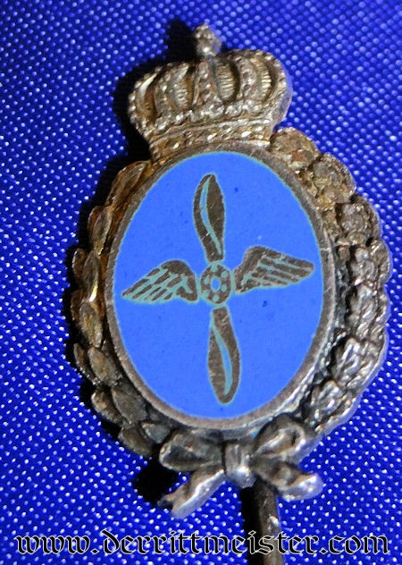 BAVARIA - STICKPIN - FLIEGERTRUPPEN - Imperial German Military Antiques Sale