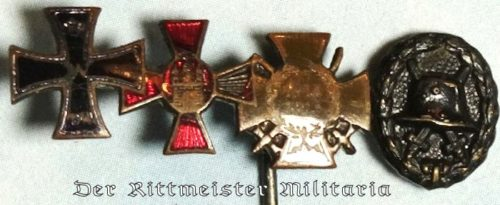 FOUR-PLACE STICKPIN - Imperial German Military Antiques Sale