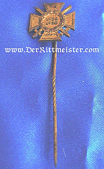 STICKPIN - HINDENBURG CROSS FOR COMBATANT - Imperial German Military Antiques Sale