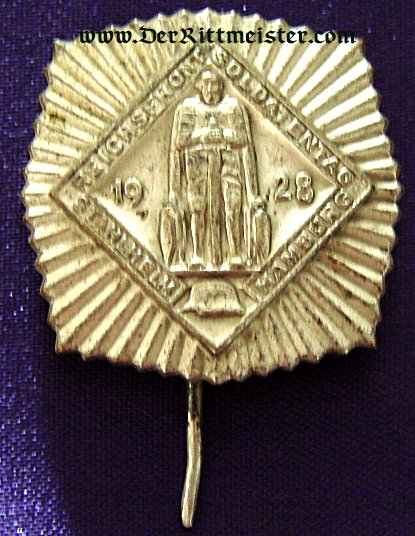 GERMANY - STICKPIN - STAHLHELM BUND - HAMBURG 1928 - Imperial German Military Antiques Sale