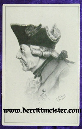 POSTCARD - KÖNIG FREDERICK - GREAT - PRUSSIA - Imperial German Military Antiques Sale