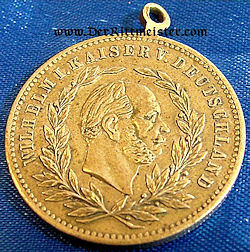 GERMANY - MEDAL - KAISER WILHELM I - 90th BIRTHDAY - Imperial German Military Antiques Sale