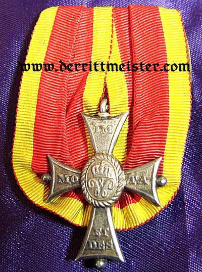 BRAUNSCHWEIG - MEDAL BAR - ONE PLACE - HEINRICH THE LION SERVICE ORDER 2nd CLASS - Imperial German Military Antiques Sale