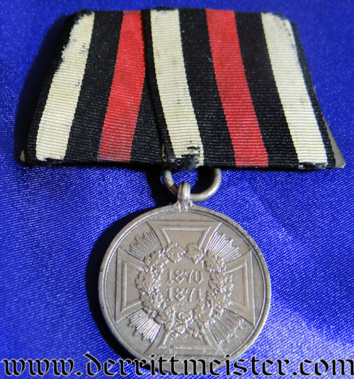 PRUSSIA - MEDAL BAR -ONE PLACE - 1870-1871 NON COMBATANTS WAR MEDAL - Imperial German Military Antiques Sale