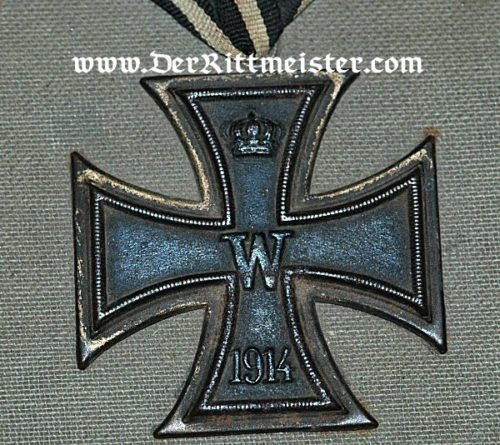 STORAGE BOX - Featuring an authentic 1914 Iron Cross 2nd Class - Imperial German Military Antiques Sale