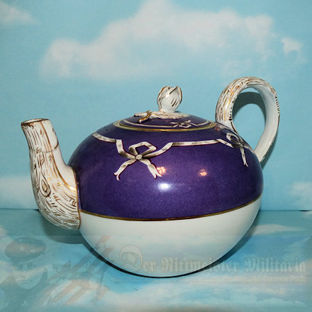 PRUSSIA - TEAPOT - PERSONAL SERVICE - KAISER WILHELM II