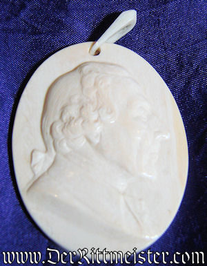 PRUSSIA - CAMEO - FREDERICK THE GREAT - Imperial German Military Antiques Sale