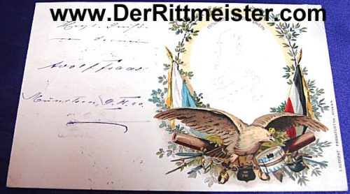 COLOR POSTCARD - PRINZREGENT LUITPOLD - BAVARIA - Imperial German Military Antiques Sale