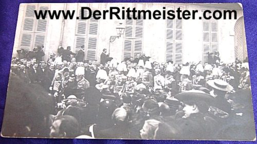 POSTCARD - FUNERAL PROCESSION - PRINZ LUITPOLD - BAVARIA - Imperial German Military Antiques Sale