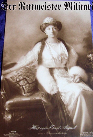 POSTCARD - PRINCESS/DUCHESS VIKTORIA LUISE - BRAUNSCHWEIG - Imperial German Military Antiques Sale