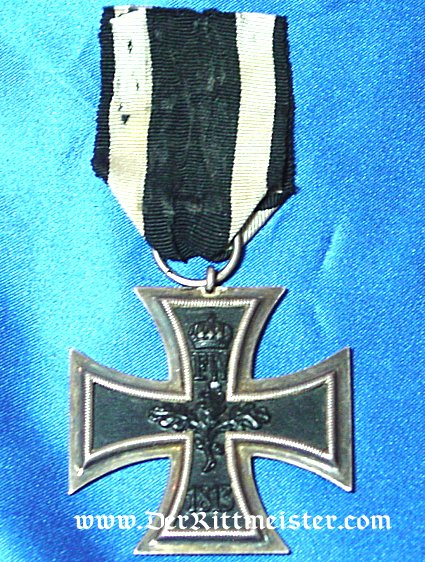 IRON CROSS - 1914 - 2nd CLASS WITH RIBBON - Imperial German Military Antiques Sale