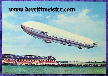 COLOR POSTCARD - ZEPPELIN L 10 - SCHWABEN - Imperial German Military Antiques Sale