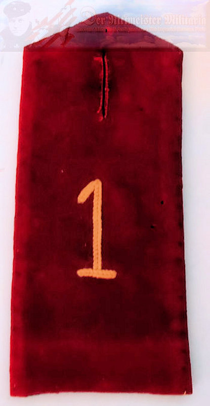 PRUSSIA - SHOULDER STRAP - ENLISTED MAN/NCO - PIONIER-BATTALION Nr 1