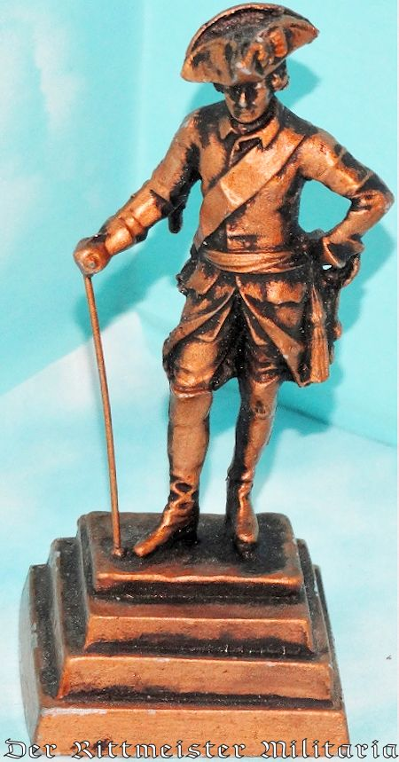 PRUSSIA - STATUE - FRIEDRICH DER GROßE - Imperial German Military Antiques Sale