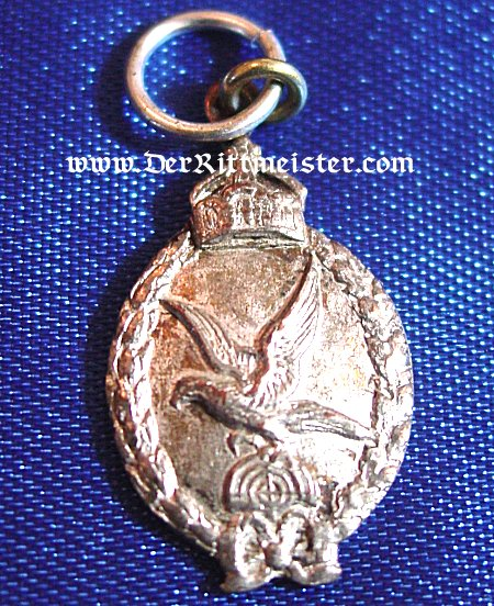 PRUSSIA - MINIATURE - BADGE - ARMY GUNNER - Imperial German Military Antiques Sale