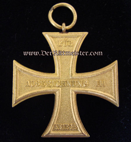 MECKLENBURG-SCHWERIN - DOCUMENT & DECORATION - 1914 MILITARY SERVICE CROSS 2nd CLASS - Imperial German Military Antiques Sale
