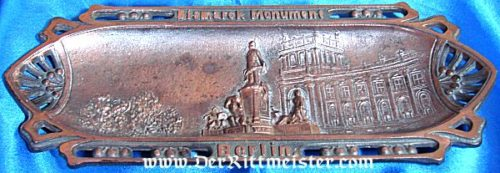 BERLIN - DESK PIECE - BISMARCK MONUMENT - Imperial German Military Antiques Sale