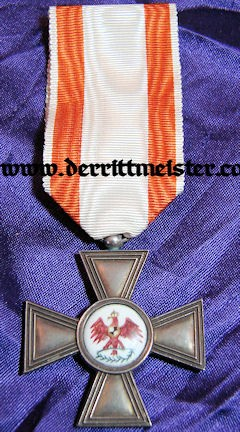 RED EAGLE ORDER 4th CLASS - 3rd MODEL - PRUSSIA - Imperial German Military Antiques Sale