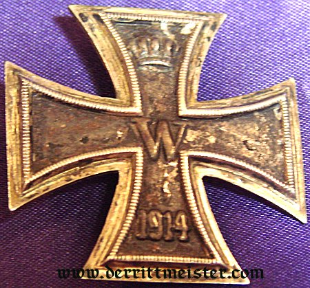 IRON CROSS - 1914 - 1st CLASS - Imperial German Military Antiques Sale