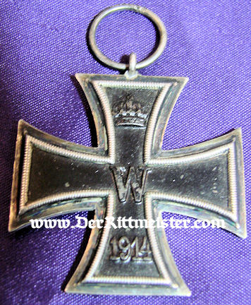 IRON CROSS - 1914 - 2nd CLASS - ORIGINAL PRESENTATION CASE