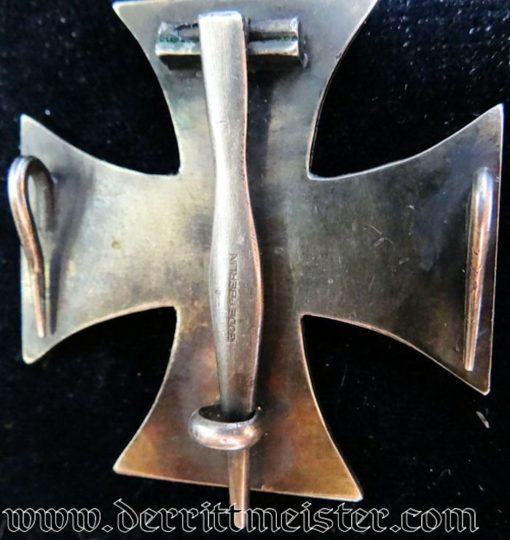 IRON CROSS - 1870 - 1st CLASS - GODET WITH PIN AND TWO SIDE HOOKS