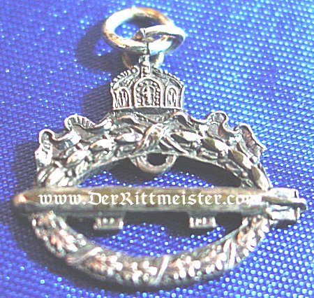 GERMANY - MINIATURE - COMMEMORATIVE NAVY AIRSHIP BADGE - Imperial German Military Antiques Sale