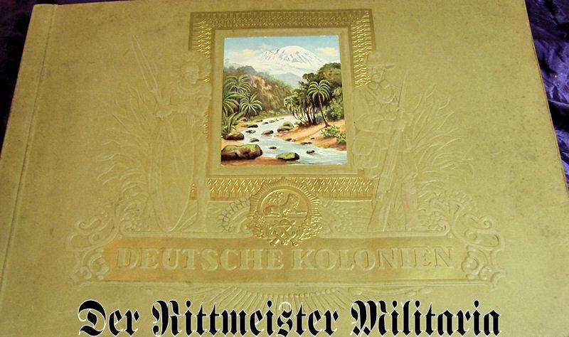 GERMANY COLONIAL – CIGARETTE CARD ALBUM – DEUTSCHE KOLONIEN