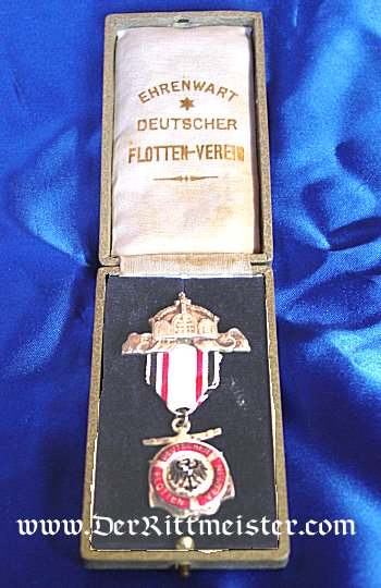 GERMANY - BADGE - NAVY VETERAN'S ASSOCIATION  - ORIGINAL PRESENTATION CASE