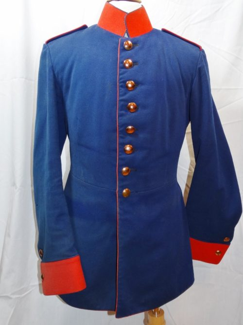 SAXONY - TUNIC - PRIVATE - IDENTIFIED PRIVATELY-PURCHASED INFANTERIE-REGIMENT Nr 103 - Imperial German Military Antiques Sale