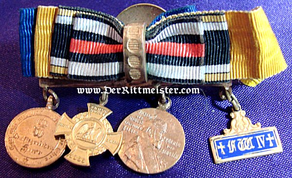 GERMANY – BOUTONNIERE – FOUR-PLACE – MINIATURE