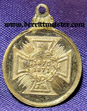 PRUSSIA - MINIATURE - 1870-1871 COMBATANT MEDAL - Imperial German Military Antiques Sale