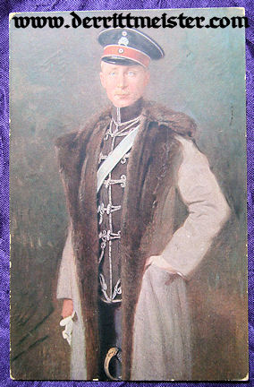 COLOR POSTCARD - KRONPRINZ WILHELM - Imperial German Military Antiques Sale