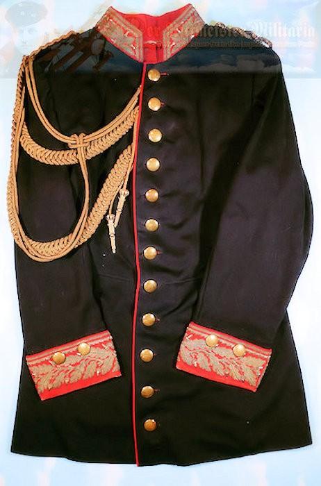 TUNIC - PRUSSIA - IDENTIFIED - GENERALLEUTNANT VON WISSENDORF