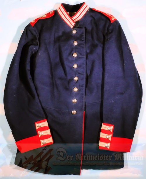 BAVARIA - TUNIC - ENLISTED MAN - DEPOT-ISSUED - INFANTERIE-REGIMENT NR 10 - Imperial German Military Antiques Sale
