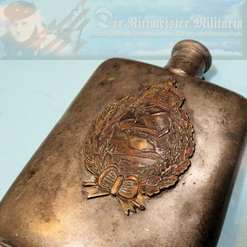 PRUSSIA - PILOT'S FLASK - Imperial German Military Antiques Sale