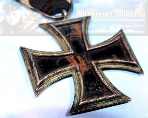 GERMANY - IRON CROSS - 1914 - 2nd CLASS AND AWARD DOCUMENT - Imperial German Military Antiques Sale